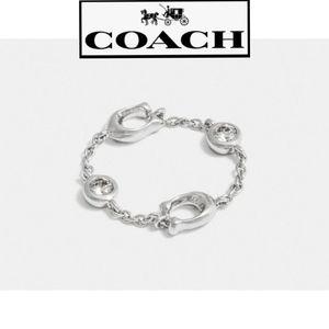 """NWT Authentic Signature """"C"""" Chain Ring"""